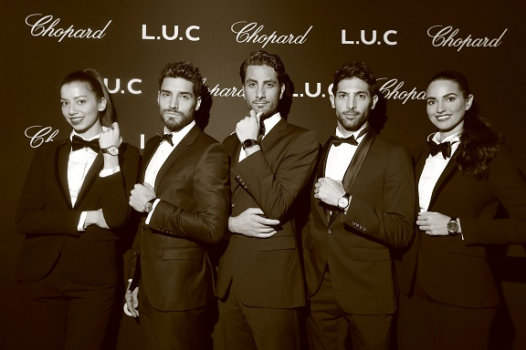 شوبارد تستضيف عشاق الساعات من الرجال في نادي ليتيل بلاك دور في دبي