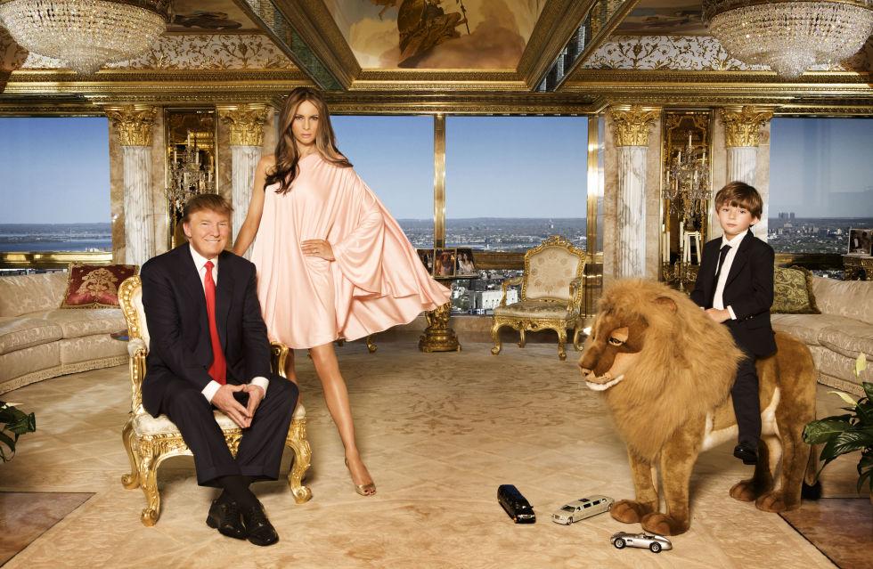 داخل منزل دونالد ترامب في منهاتن…أكثر فخامة من البيت الأبيض نفسه