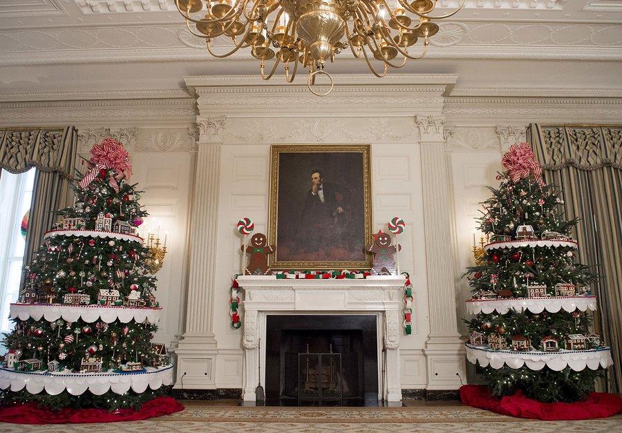 كيف زينت ميشيل اوباما البيت الأبيض استقبالا لعيد الميلاد