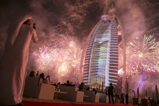 كيف احتفلت دبي بالعيد الوطني