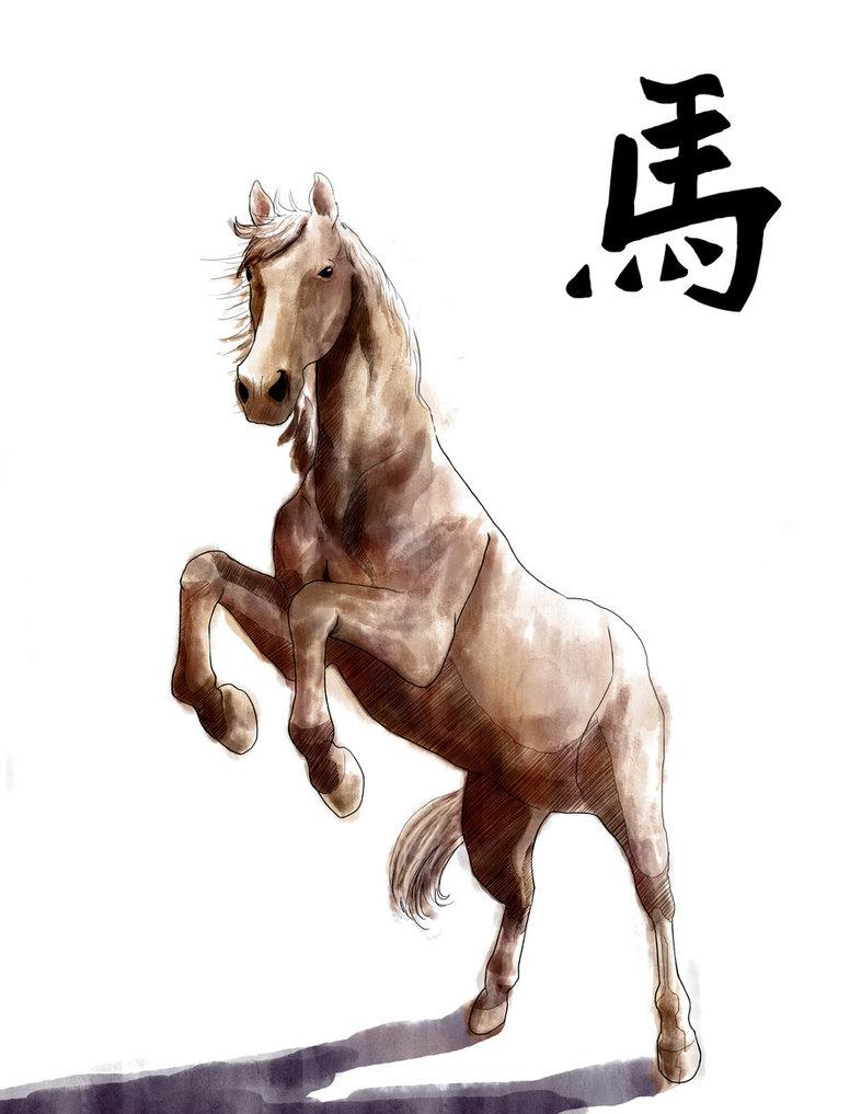 صفات مولود برج الحصان الصيني