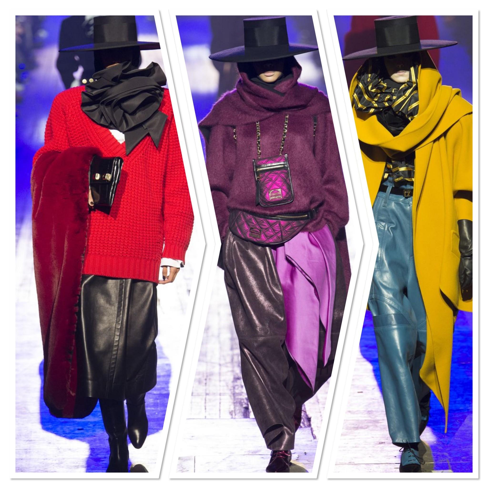 مارك جيكوب يختتم اسبوع الموضة في نيويورك باغرب الاطلالات