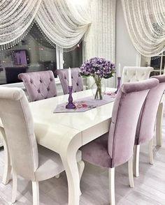 ab44ce69461abdf8639ee4695040cd10 اختاري طاولة سفرة مميزة لمنزلك