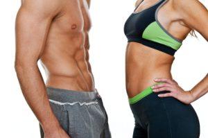 fit   man and woman 300x199 أطعمة غذائية طبيعية للعضلات