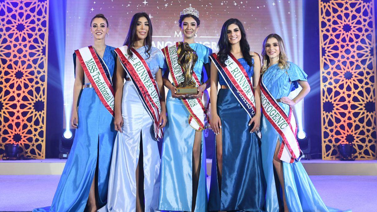 تتويج ملكة جمال لبنان في تايلند!!!