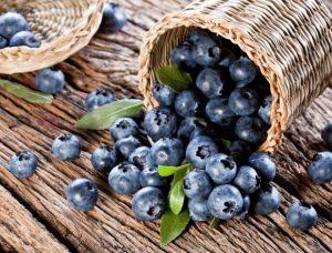 jagody i borowki amerykanskie w deserach 294515 300x228 أغذية ترفع من قدرات المخ