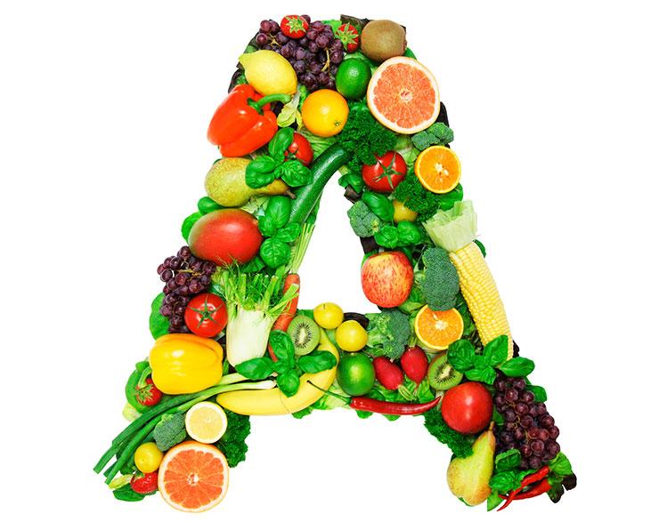 """A""في أي الأغذية يتواجد فيتامين"