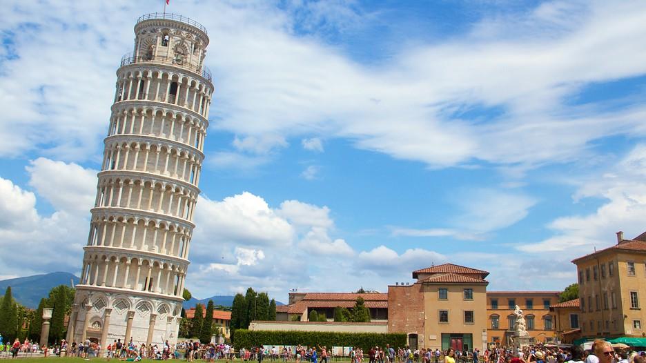 ماقصة برج بيزا المائل ،كيف مال البرج الذي استغرق بناؤه مئتي عام؟؟؟