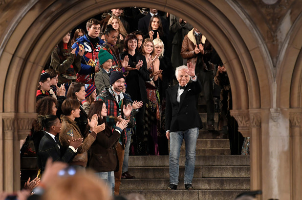 رالف لورين يحتفل بخمسين عاما من الأبداع