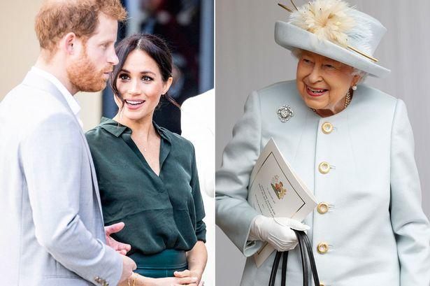 ميغان ميركل حامل بطفلها الملكي الأول