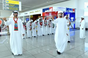 Abu Dhabi Airports Celebrates Oman National Day 2 300x200 مطارات أبوظبي تحتفي باليوم الوطني العماني