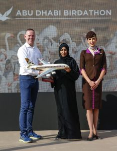 Etihad Airways Image 3 233x300 الاتحاد للطيران وهيئة البيئة أبوظبي تطلقان ماراثون أبوظبي للطيور احتفاءً بعام زايد