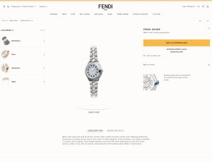 FENDI TIMEPIECES CUSTOMIZATION PROGRAM 1 300x230 تجربة تخصيص جديدة مع مجموعة Fendi IShine