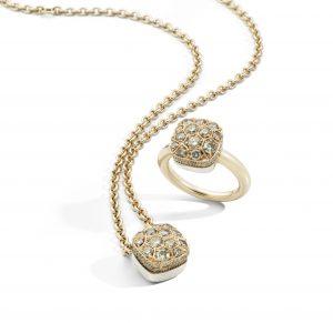 NUDO MAXI SOLITAIRE by Pomellato brown diamonds 2 300x291 في موسم العطلات ، ابحث عن قطع الأحجار الكريمة المتعددة الأوجه من مجوهرات Pomellato