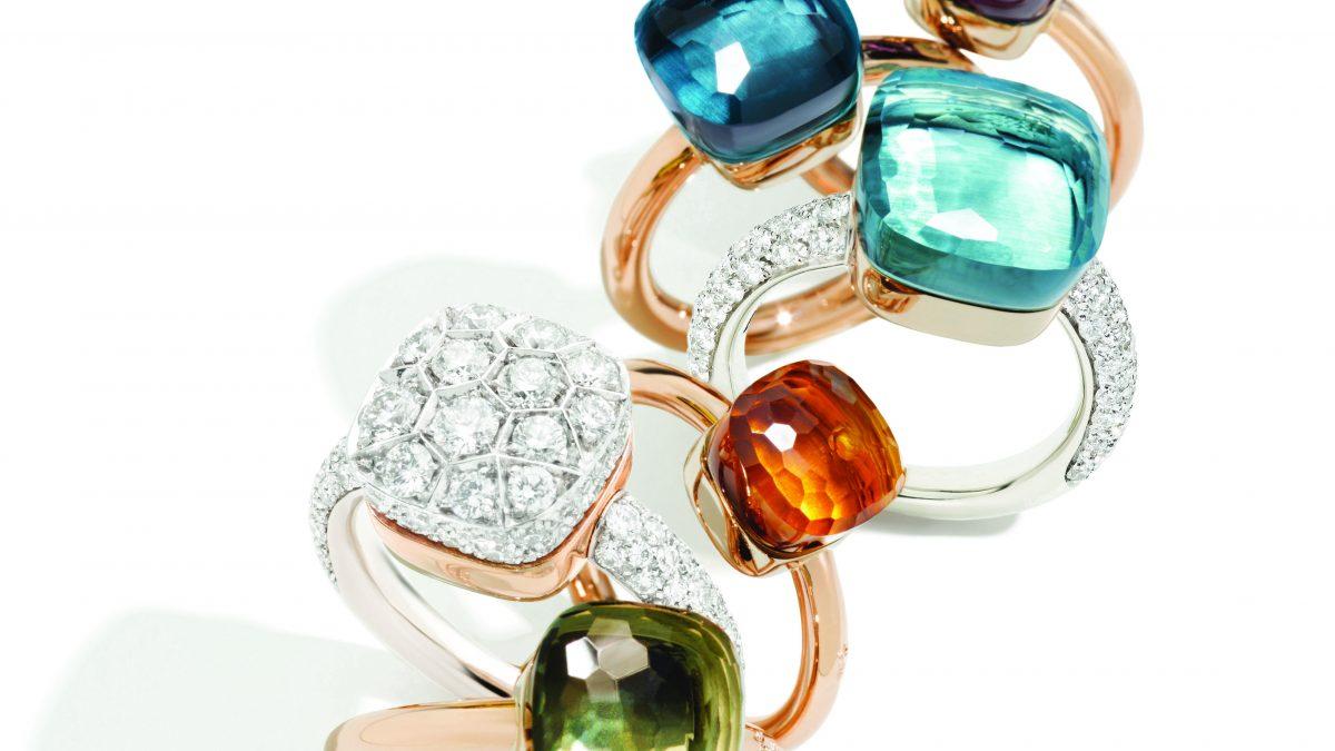 في موسم العطلات ، ابحث عن قطع الأحجار الكريمة المتعددة الأوجه من مجوهرات Pomellato
