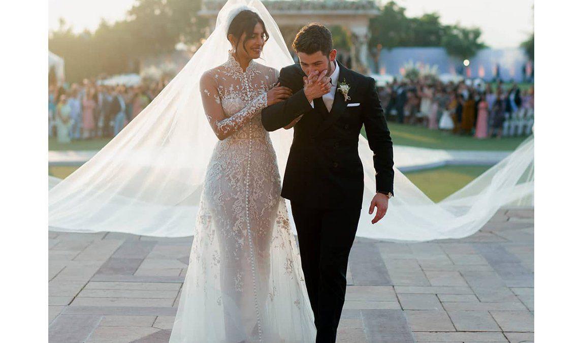 """حفل زفاف بريانكا شوبرا ونيك جوناس بتوقيع """"Ralph Lauren"""""""