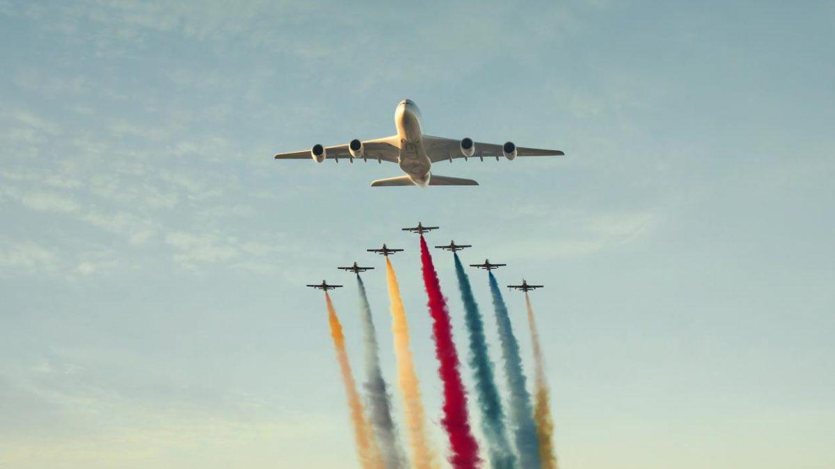 الاتحاد للطيران تبهر العالم بمراسم افتتاح الألومبياد