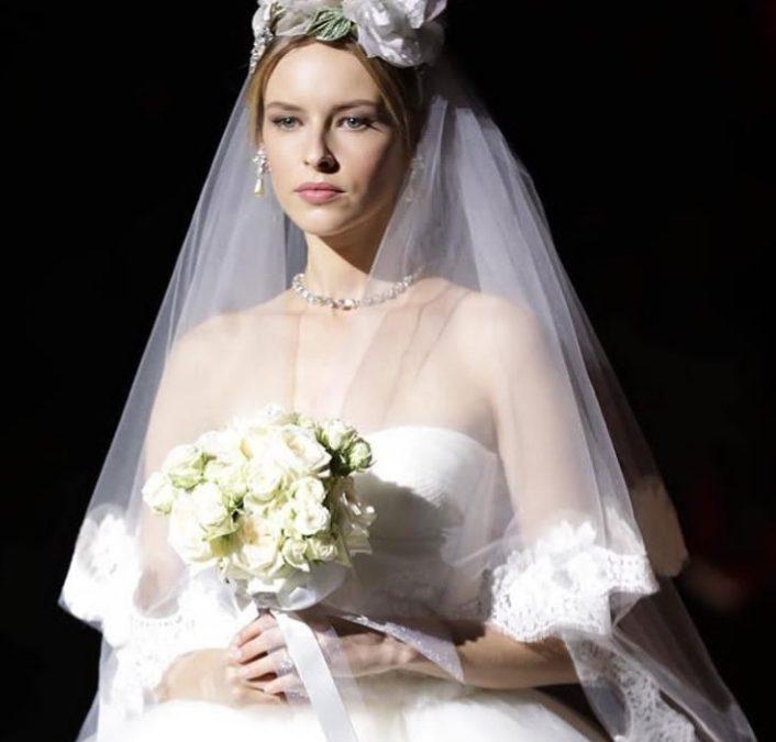عروس Dolce & Gabbana مستوحاة من حقبة العشرينات لشتاء 2019
