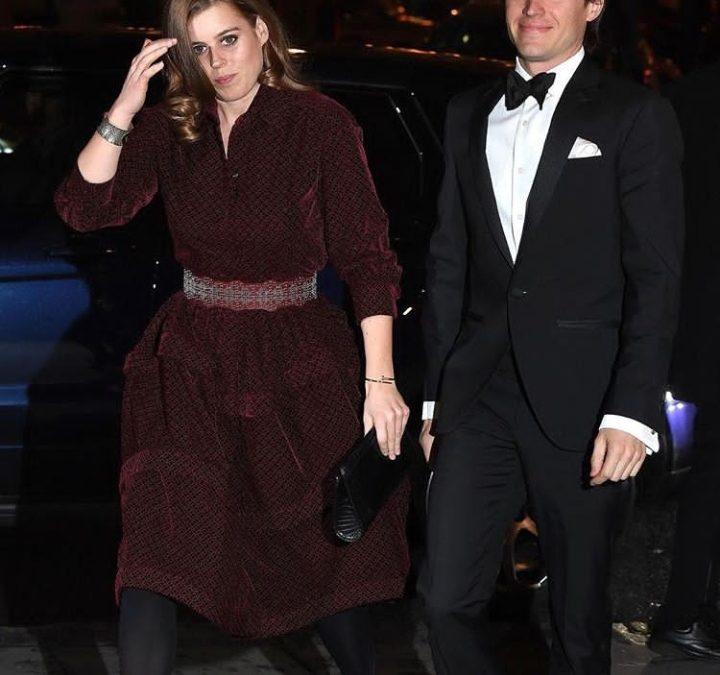 الأميرة بياتريس في أول ظهور علني مع حبيبها
