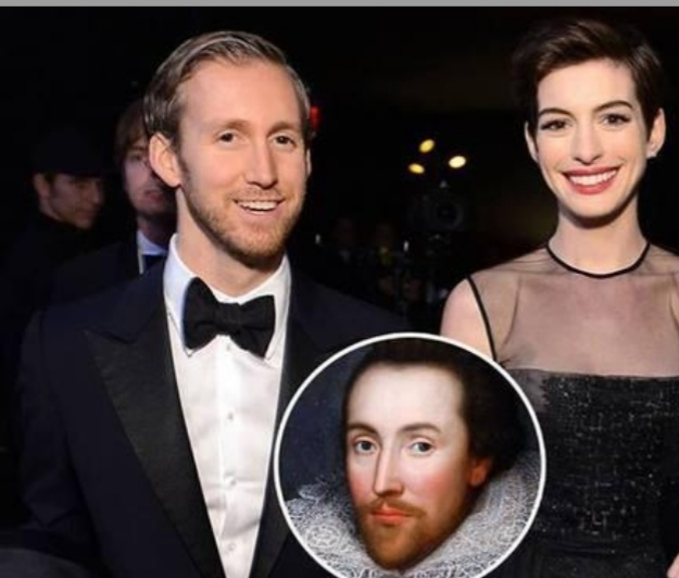 صدفة كونية غريبة تجمع آن هاثاواي و زوجها بويليام شكسبير