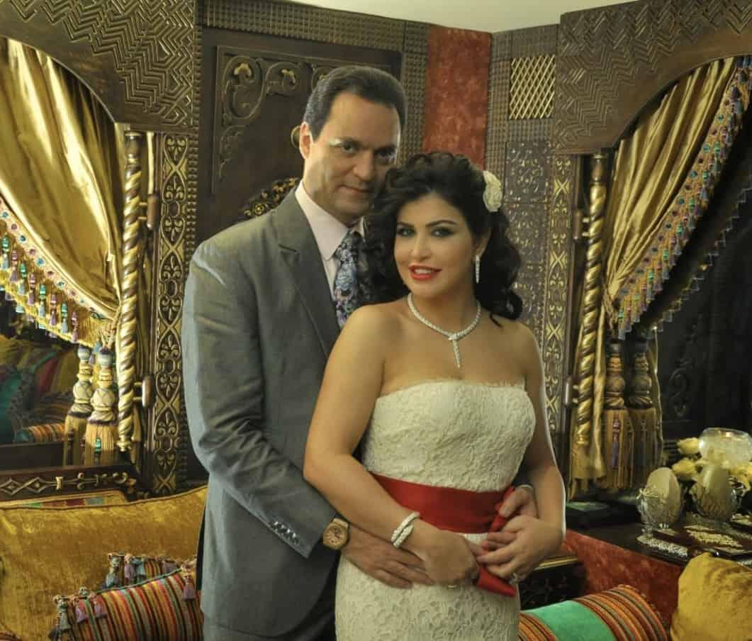 جومانا مراد وزوجها بأحدث
