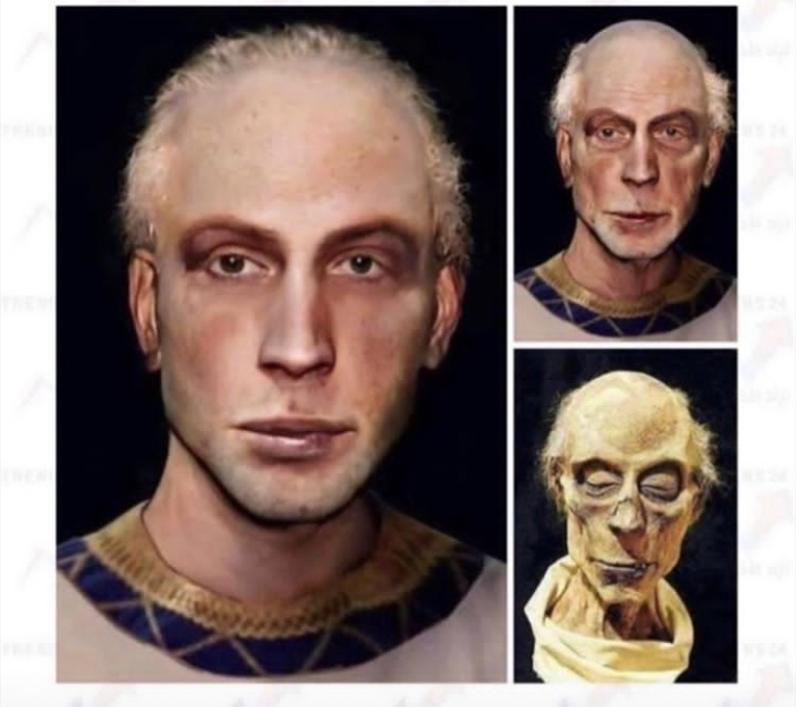 تشكيل وجه فرعون بتقنية المسح الضوئي كيف يبدو الشكل الحقيقي لفرعون أنا سلوى انا سلوى Anasalwa تكنولوجيا